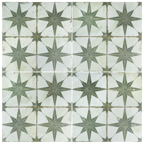 Royalty Galactic 17.63 x 17.63 Ceramic Field Tile in Sage by EliteTile