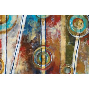 Zoetrophe I by Linza Painting Print on Wrapped Canvas by Portfolio Canvas Decor
