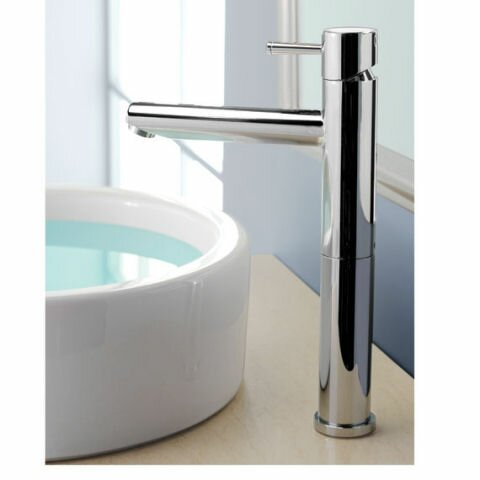 Serin Single Hole Bathroom Vessel Faucet with by A