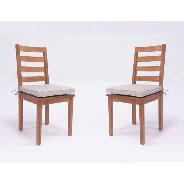 Zimmer Solid Wood Dining Chair (Set of 2) by Union Rustic