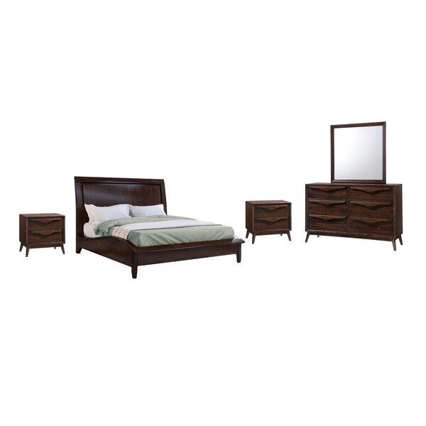 Laplante Wood Platform 5 Piece Bedroom Set by George Oliver