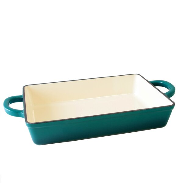 Artisan Rectangular Non-Stick Enameled Baking Dish by Crock-pot
