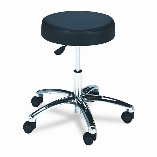 Pneumatic Lift Height-Adjustable Lab Stools by Safco Products Company