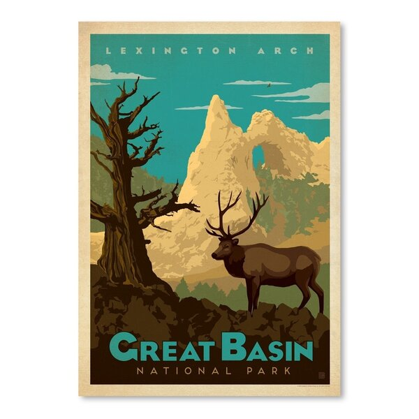 Great Basin National Park Vintage Advertisement by East Urban Home