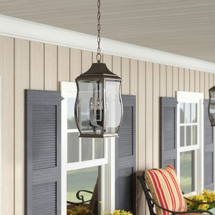 Top Reviews El Paso 3-Light Outdoor Hanging Lantern By Darby Home Co
