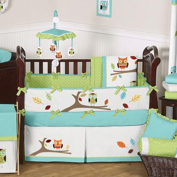 Hooty 9 Piece Crib Bedding Set by Sweet Jojo Designs