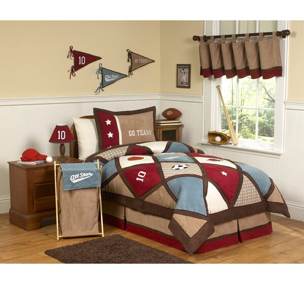 All Star Sports Comforter Set by Sweet Jojo Designs