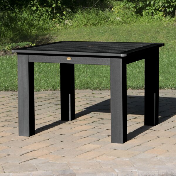 Theobald Plastic/Resin Dining Table by Darby Home Co