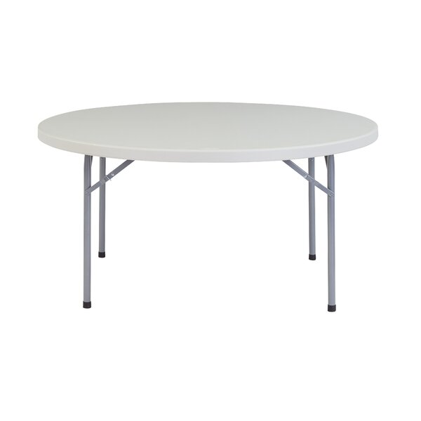 60 Round Folding Table by National Public Seating