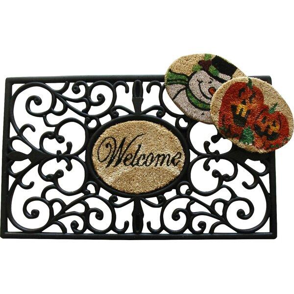 Welcome Doormat by Geo Crafts, Inc