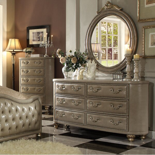 Simmons 6 Drawer Double Dresser by Astoria Grand