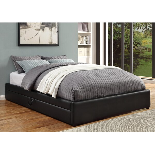 Queen Upholstered Storage Platform Bed by Wildon Home ®