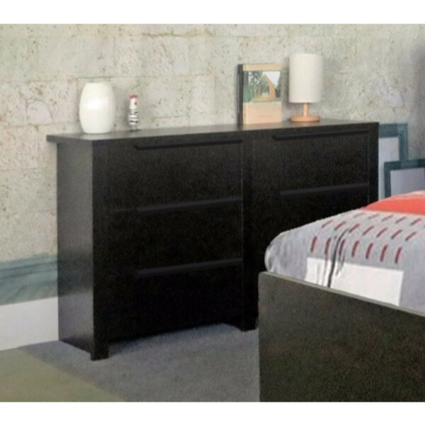 Drinnon Spacious 6 Drawer Double Dresser by Latitude Run