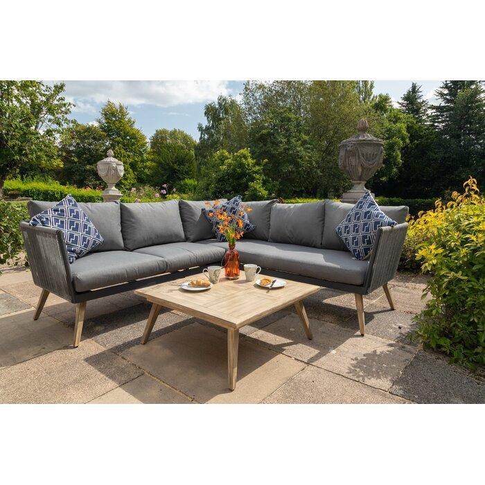 William 5 Seater Corner Sofa Set