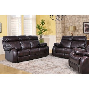 Maxwell Faux Leather Living Room Set by Beverly Fine Furniture