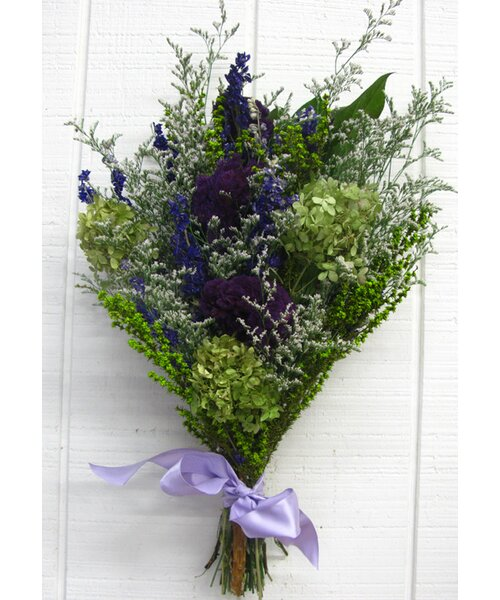 Dried Basil And Lavender Flowers by From the Garden