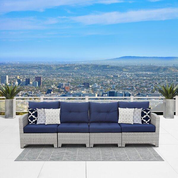 Cicero 4 Piece Sofa by Sol 72 Outdoor