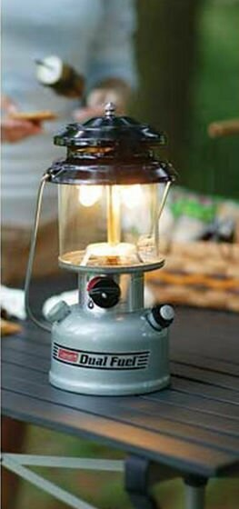 Premium Dual Fuel Lantern with Hard Carrying Case by Coleman