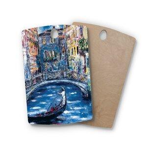 Josh Serafin Birchwood Venice Travel Italy Cutting Board ByEast Urban Home