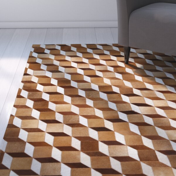 Mai Beige/Brown Area Rug by Latitude Run
