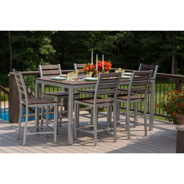 Loft 7 Piece Bar Height Dining Set by Elan Furniture
