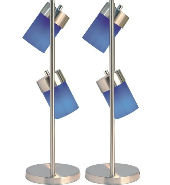 Aneesh Adjustable 25 Table Lamp (Set of 2) by Latitude Run
