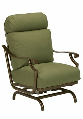 Montreux Action Patio Chair with Cushions by Tropitone