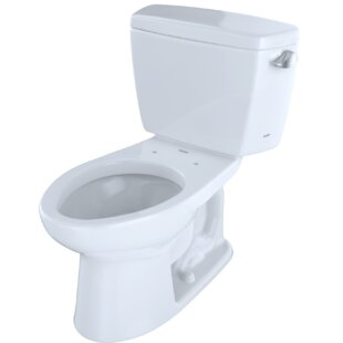 Reviews Drake® Dual Flush Elongated Two-Piece Toilet (Seat Not Included) By Toto