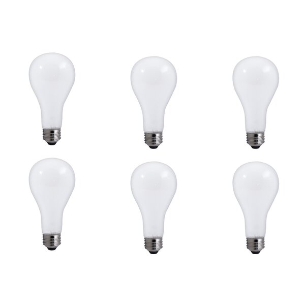 50W E26 Dimmable Incandescent Light Bulb Frosted (Set of 12) by Bulbrite Industries