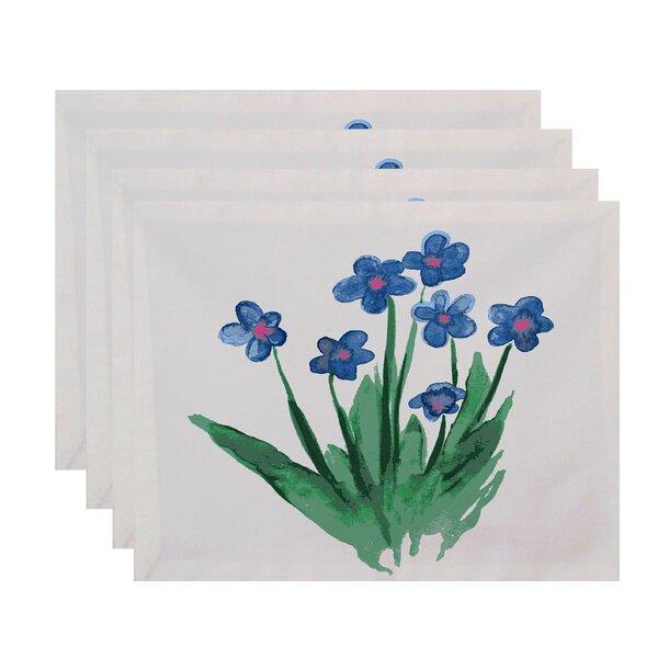 Laymon Pretty Little Flower Placemat (Set of 4) by Gracie Oaks