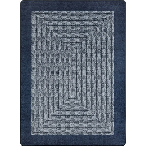 Constantine Navy Area Rug by Gracie Oaks