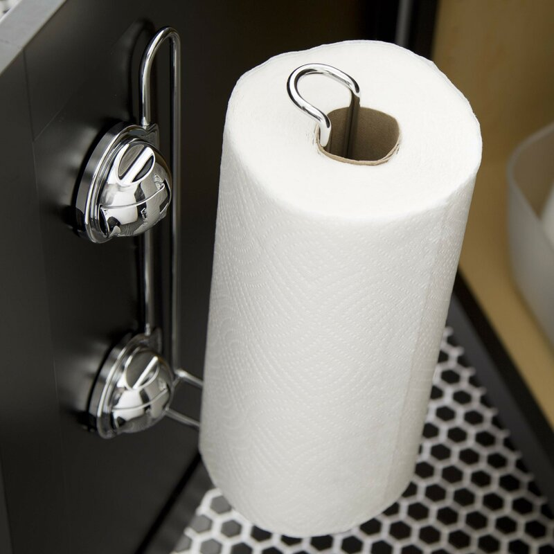 Feca Stainless Steel Wall Mount Paper Towel Holder With Powerful