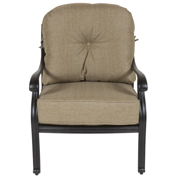 Gadson Patio Chair with Cushions (Set of 2) by Red Barrel Studio