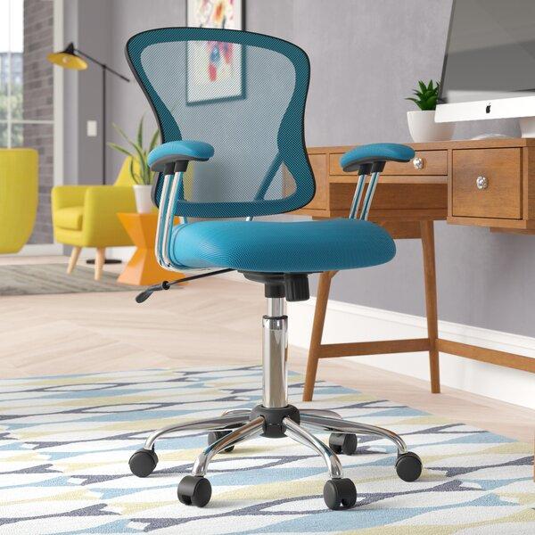 Alves Mid-Back Mesh Desk Chair by Wrought Studio