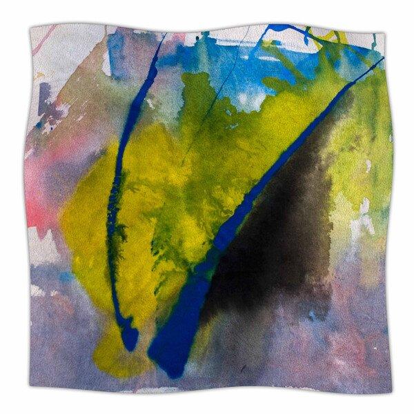Exploration by Malia Shields Fleece Blanket by East Urban Home