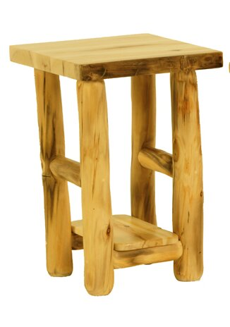 """Rustic Artsâ""""¢ End Table by Mountain Woods Furniture"""