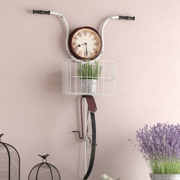 Andrewson Bicycle Wall Clock by August Grove