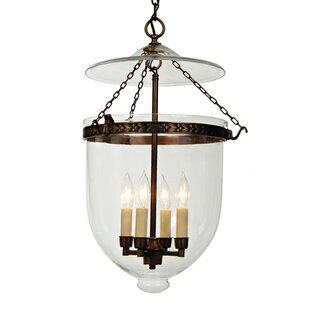 Extra large lantern pendant wayfair 4 light extra large bell jar foyer pendant aloadofball Images
