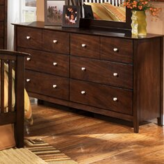 Bascomb 8 Drawer Double Dresser by Darby Home Co