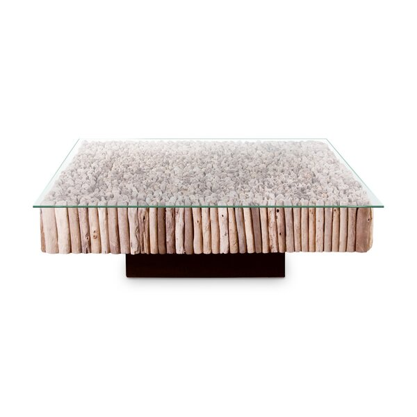 Manhattan Pedestal Coffee Table By Phillips Collection