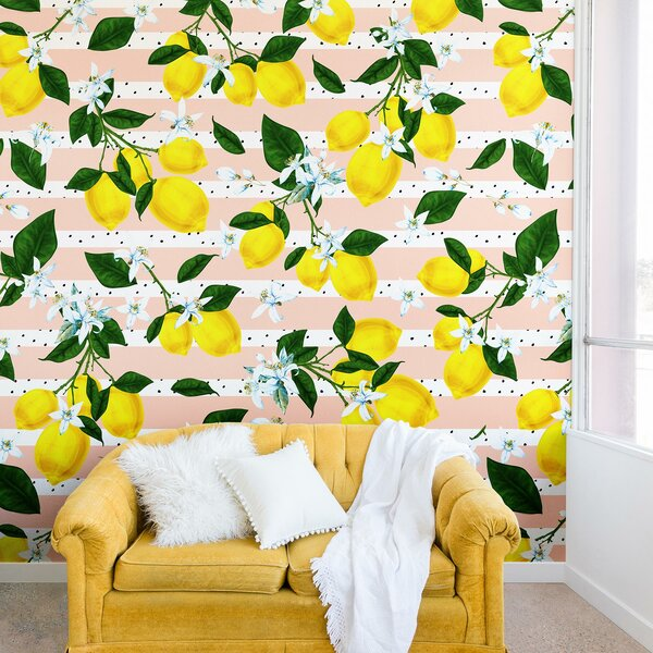 Marta Barragan Camarasa of Flowery Lemons Wall Mural by East Urban Home
