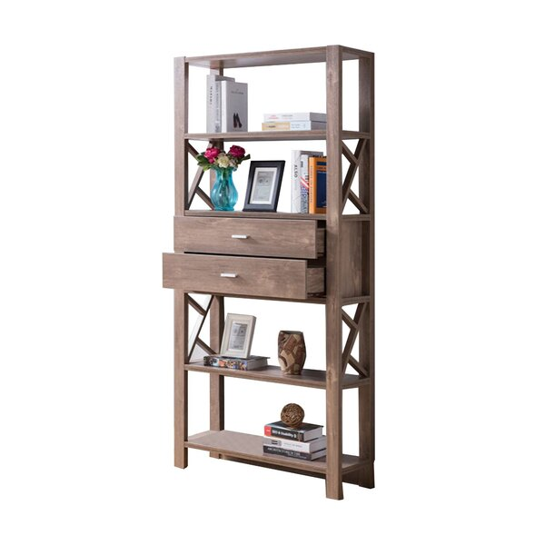 Ruyle Wooden Etagere Bookcase By Union Rustic