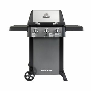 Gem 320 3-Burner Liquid Propane Gas Grill