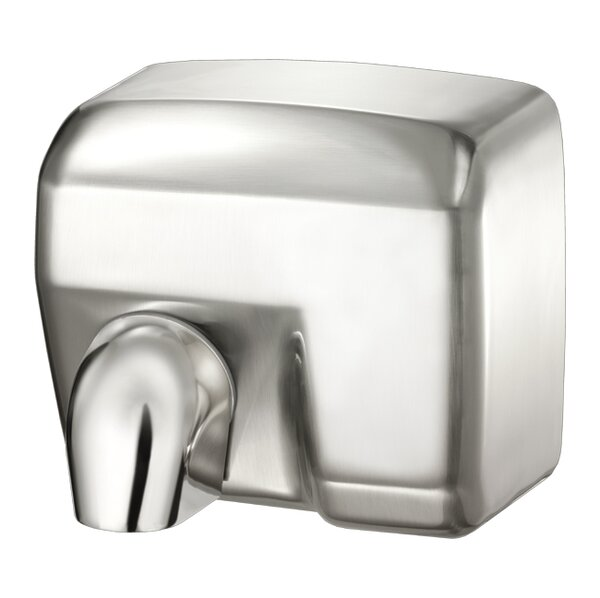 Conventional Series Automatic 110/120 Volt Hand Dryer in Brushed Chrome by Palmer Fixture