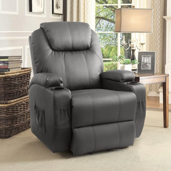 Lift Assist Standard Power Reclining Full Body Massage Chair By Red Barrel Studio