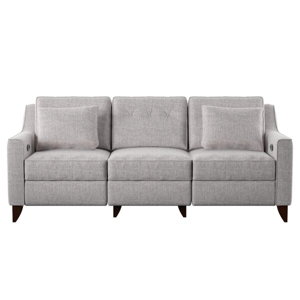 Logan Reclining Sofa by Wayfair Custom Upholstery™