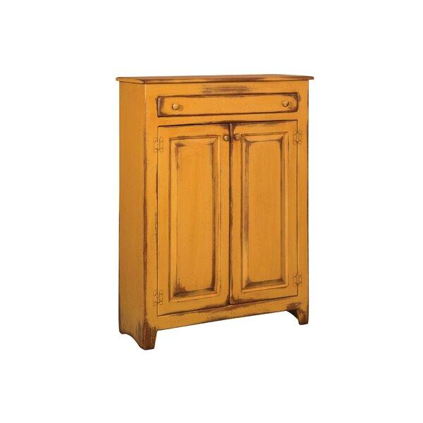 Ruths Pie Safe Storage 2 Door Accent Cabinet by dCOR design dCOR design