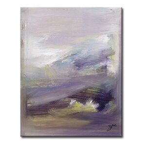 Abstract XIII Framed Painting Print on Wrapped Canvas by Mercer41