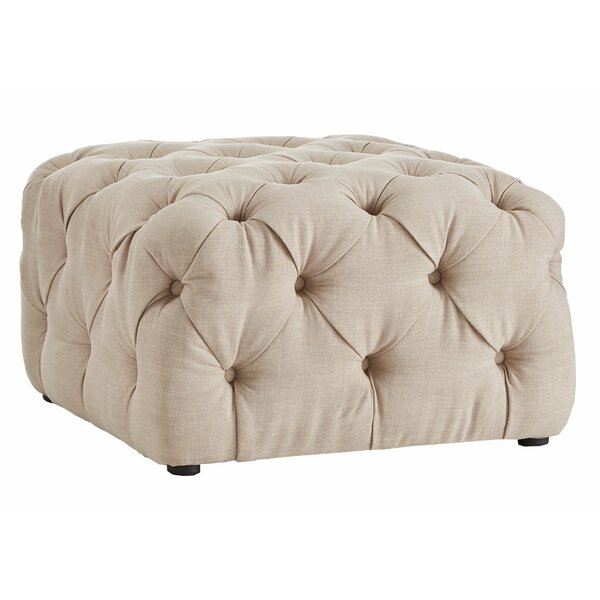 Laussat Tufted Cocktail Ottoman by Charlton Home