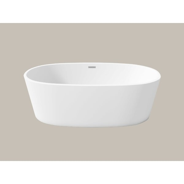 Firenze 59 x 30 Freestanding Soaking Bathtub by Perlato
